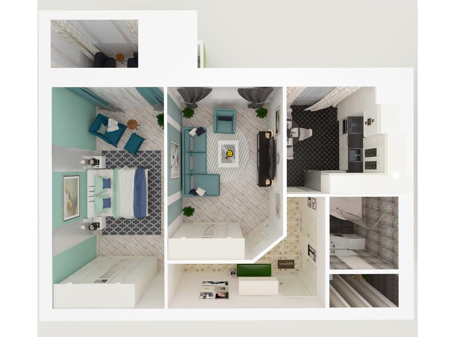 ЖК Eco House планування 24