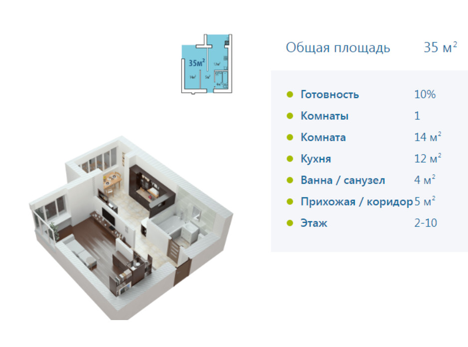ЖК Европейське місто планировка 44