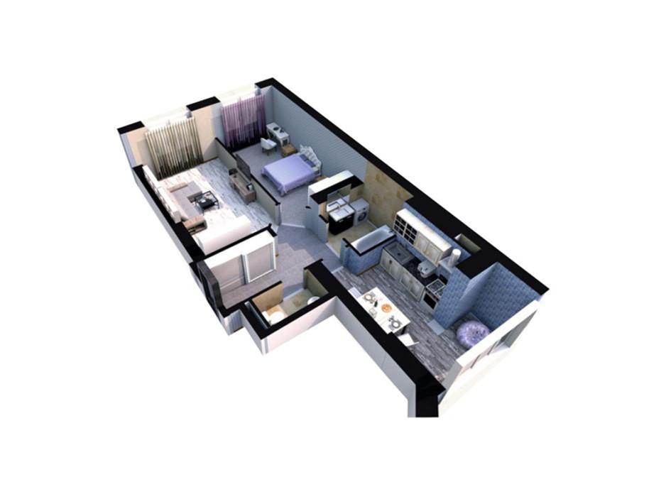 ЖК Sofia Residence планировка 18