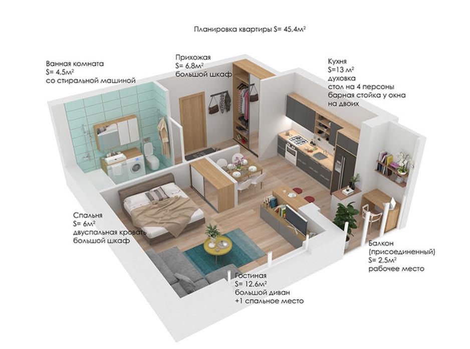 КМ Grand Villas планування 21
