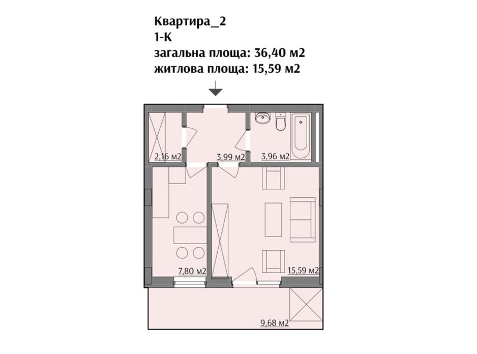 ЖК по вул. Варшавська планування 7