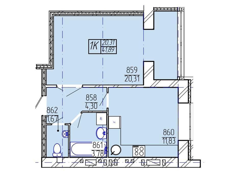 ЖК Гармонія-2 планування 8