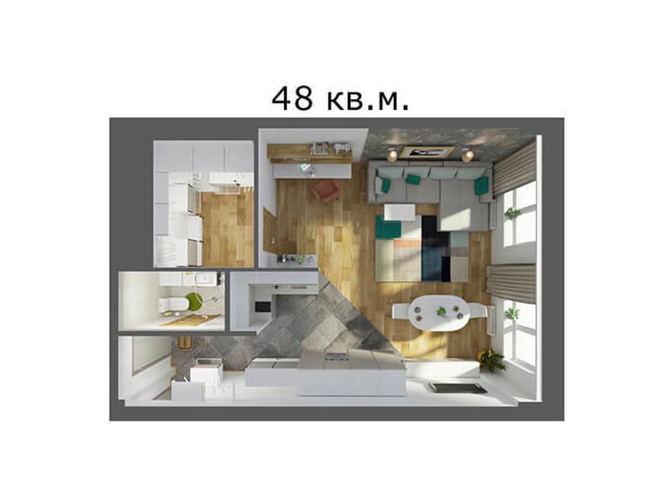 ЖК Smart House планировка 26