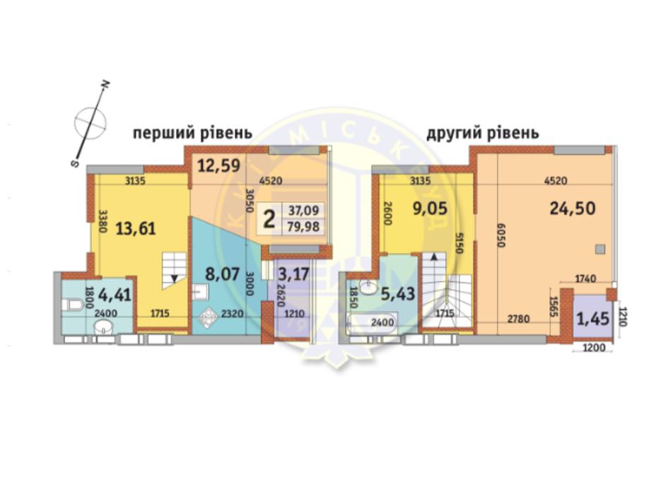 ЖК Урловский-2 планировка 11