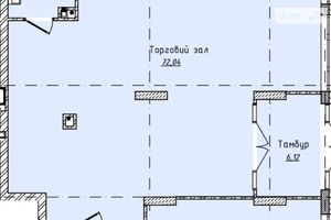 Продається офіс 107.25 кв. м в нежитловому приміщені в житловому будинку