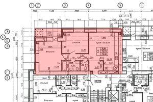 Продається 2-кімнатна квартира 74.4 кв. м у Тернополі