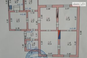 Продается одноэтажный дом 85 кв. м с участком