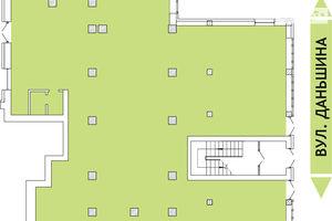 Продається офіс 500 кв. м в нежитловому приміщені в житловому будинку