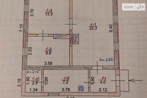 Продается одноэтажный дом 58 кв. м с балконом