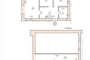 Продається 2-кімнатна квартира 77.2 кв. м у Ірпені