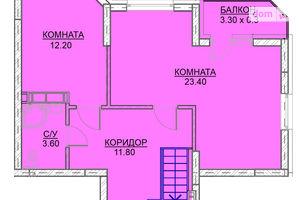 Продается 3-комнатная квартира 102.5 кв. м в Вышгороде