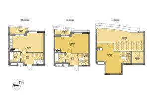 Продается 3-комнатная квартира 117.15 кв. м в Вышгороде