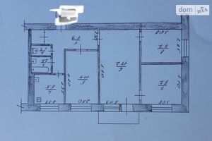 Продается 4-комнатная квартира 68 кв. м в Житомире