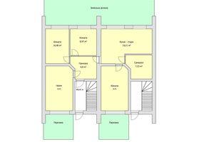 Продается 4-комнатная квартира 86.41 кв. м в Тернополе