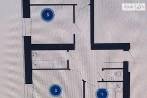 Продається 3-кімнатна квартира 79.1 кв. м у Тернополі