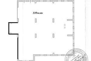 Продається приміщення вільного призначення 355 кв. м в 1-поверховій будівлі