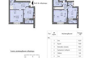 Продается 3-комнатная квартира 95 кв. м в Вышгороде