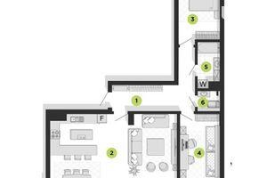 Продается 4-комнатная квартира 93 кв. м в Ивано-Франковске