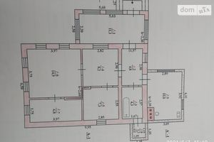 Продається одноповерховий будинок 69.4 кв. м з мансардою