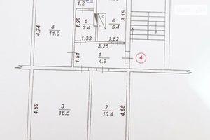 Продается 3-комнатная квартира 56.8 кв. м в Александрии