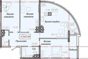 Куплю трехкомнатную квартиру на Большом Фонтане без посредников