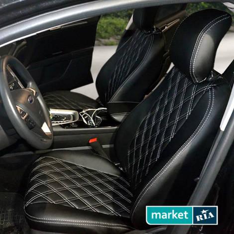 AVTOMANIA R-LINE (Экокожа)  | Чехлы на сиденья из экокожи: фото - MARKET.RIA