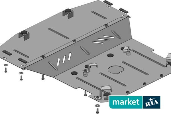 Схема защиты двигателя, радиатора и рулевой рейки