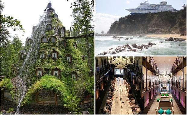 10 самых невероятных отелей мира, поражающих воображение (фото)