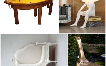 10 забавных предметов мебели, которые реально существуют