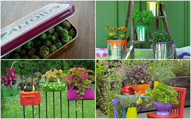 11 идей креативных цветочных горшков своими руками