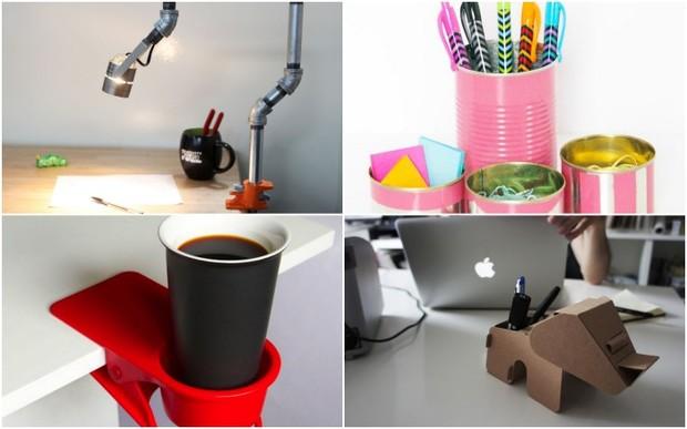 13 нестандартных идей оптимизации пространства рабочего стола