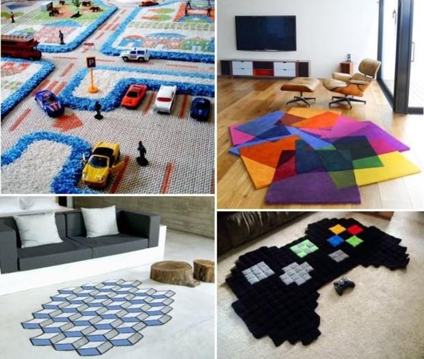 15 креативных ковров, которые станут изюминкой вашего интерьера!