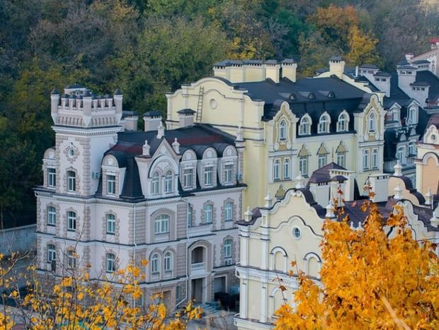 5 Жилых комплексов Киева с необычными фасадами