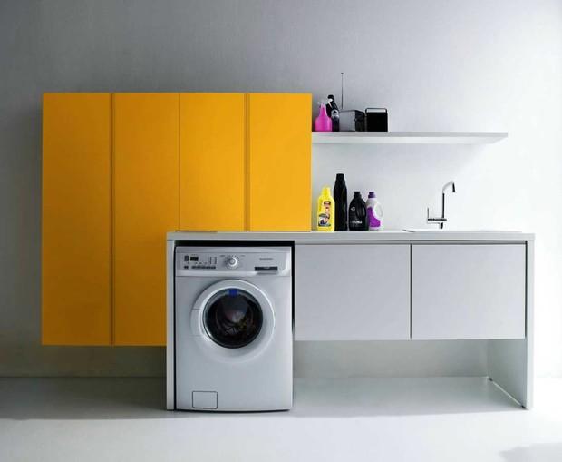 8 идей как разместить стиральную машинку
