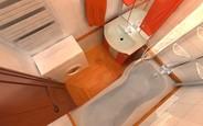 Как оформить маленькую ванную?