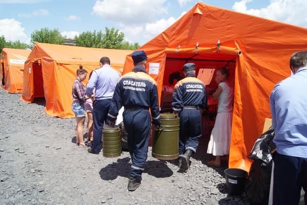 Беженцы, уехавшие из Донбасса в Россию, недовольны условиями содержания