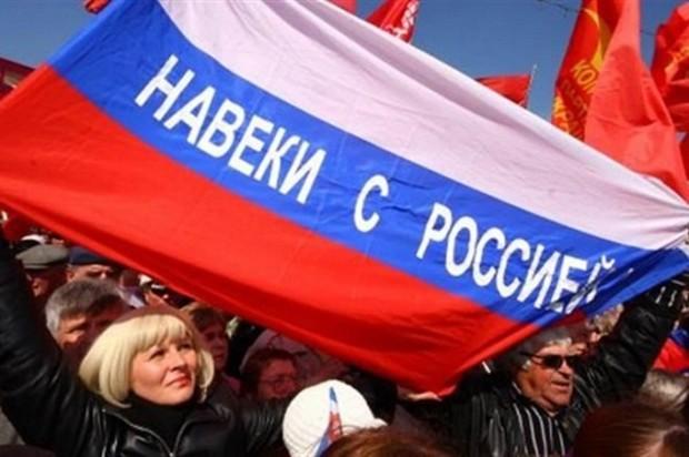 Больше половины россиян не против присоединения к РФ и других регионов Украины, - опрос