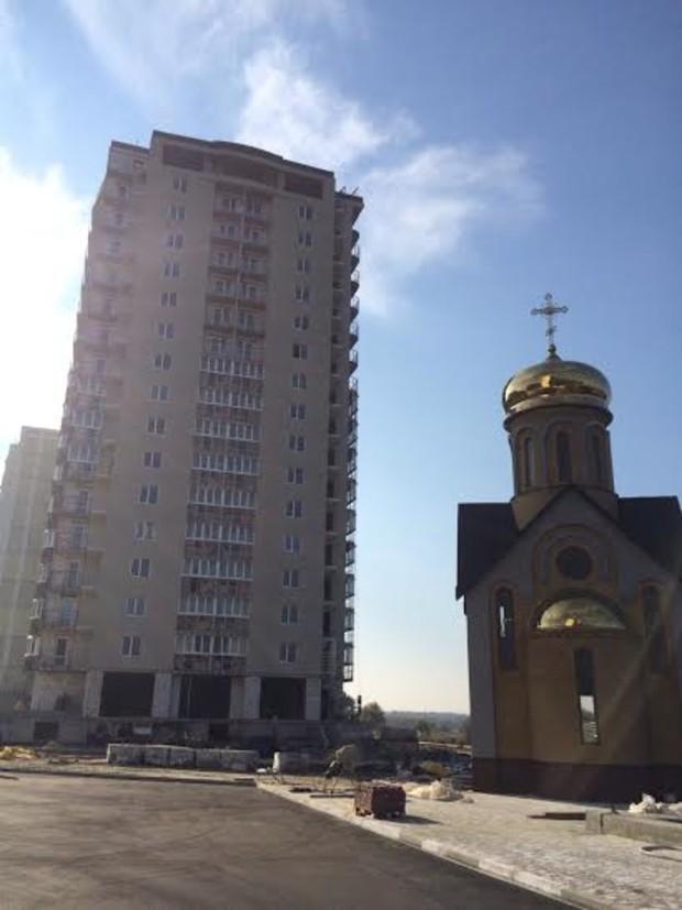 Динамика строительства ЖД «Маяк» от АО «КДСК», г. Харьков: октябрь  2014 года