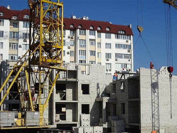 Динамика строительства ЖК Московский в Октябре 2016