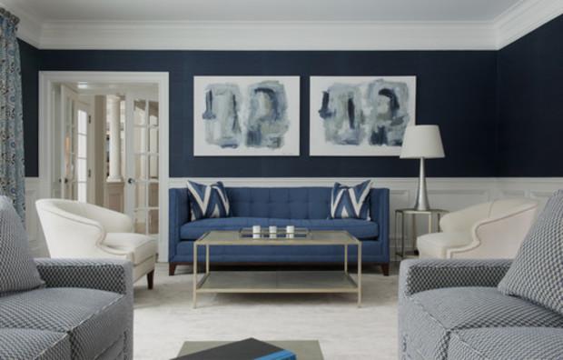 Дизайн интерьера: Как подобрать оттенок стен