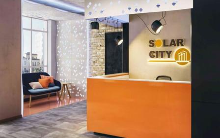 Дизайнеры оформили интерьер общественных пространств ЖК SOLAR CITY