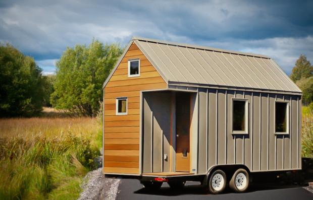 Дом недели: 14 кв. м. на колесах стоимостью $35 тыс. (фото)