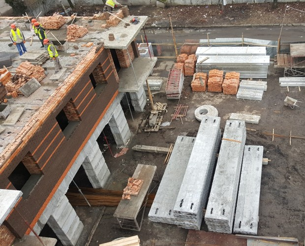 Етапи будівництва зростають з кожним тижнем!