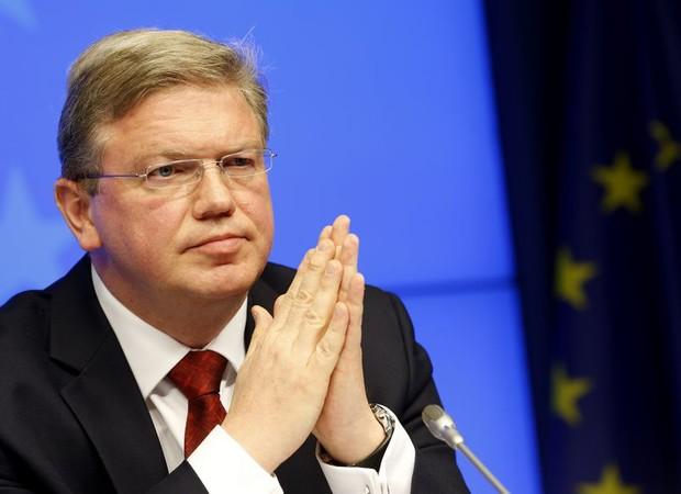 Фюле заявил о готовности ЕС отменить визы для украинцев