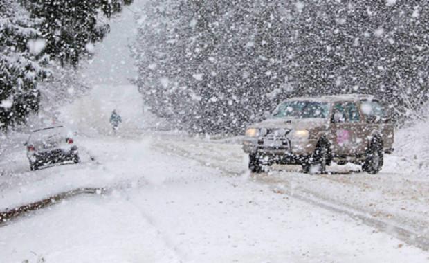 ГАИ представила полный список дорог Украины, перекрытых из-за непогоды
