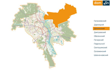 Где в Киеве комфортно жить? Деснянский район