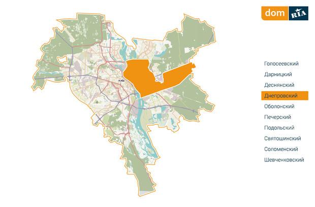 Где в Киеве комфортно жить? Днепровский район