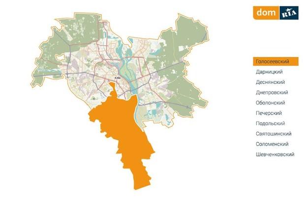 Где в Киеве комфортно жить? Голосеевский район