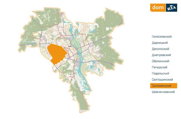 Где в Киеве комфортно жить? Соломенский район