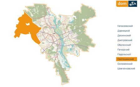 Где в Киеве комфортно жить? Святошинский район